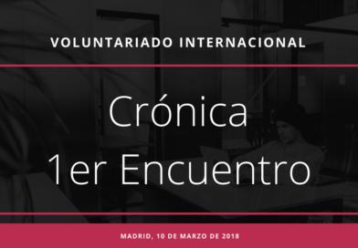 Crónica 1er Encuentro Voluntariado