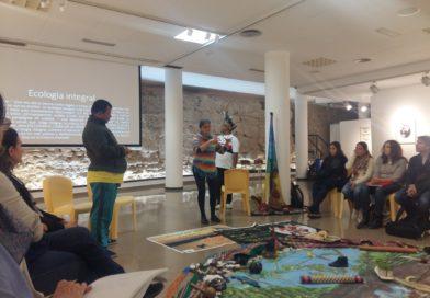 La delegación territorial Levanteruel participa en una charla sobre la Amazonía y la Ecología Integral