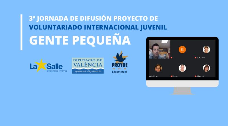 3ª Jornada de difusión del proyecto de Gente Pequeña