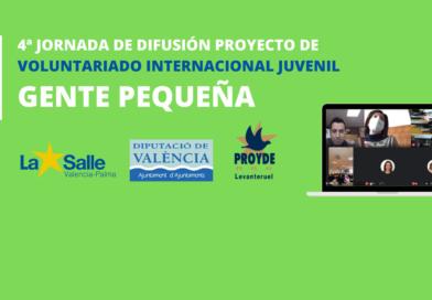 4ª Jornada de difusión del proyecto de Gente Pequeña