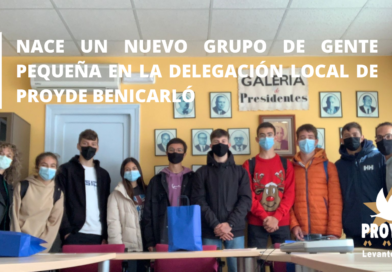 Nuevo grupo de Gente Pequeña en Benicarló